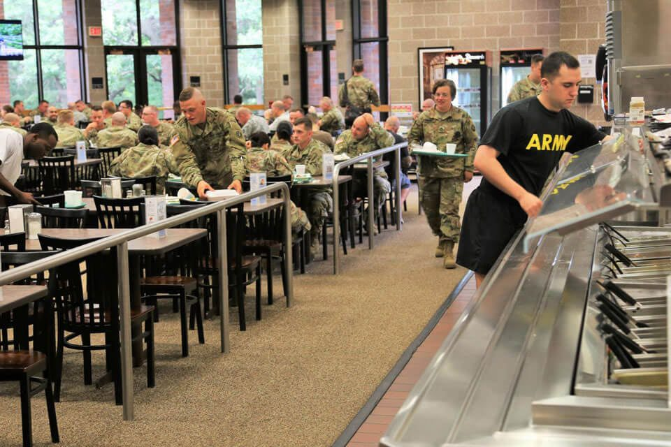 Food Contracting Military